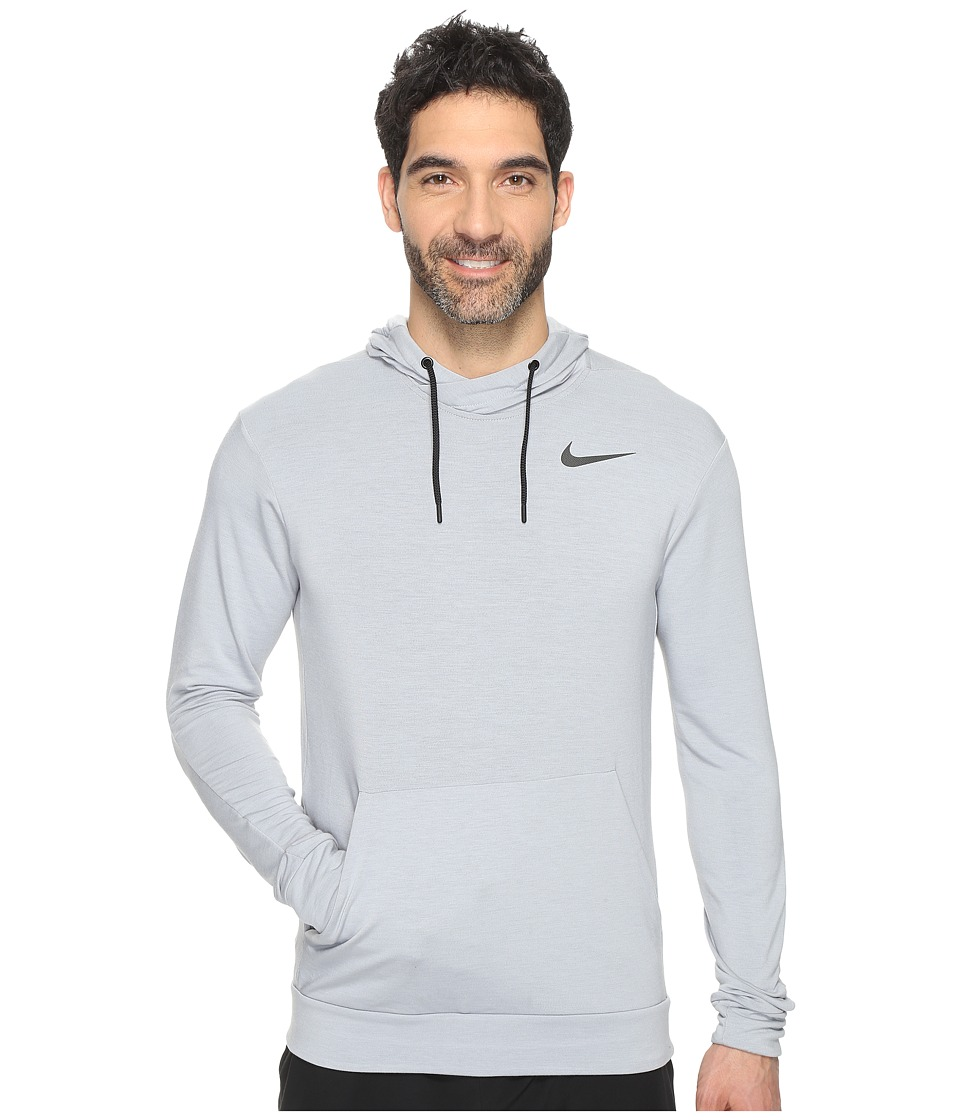 Nike - Dry Training Hoodie (Wolf Grey/Black) Men's Sweatshirt