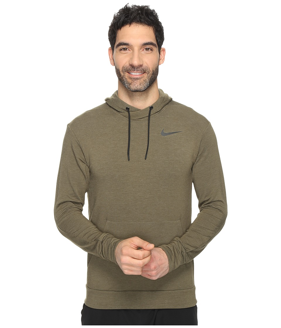 Nike - Dry Training Hoodie (Cargo Khaki/Black) Men's Sweatshirt