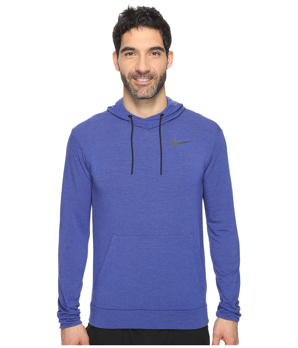 Nike - Dry Training Hoodie (Deep Royal Blue/Black) Men's Sweatshirt