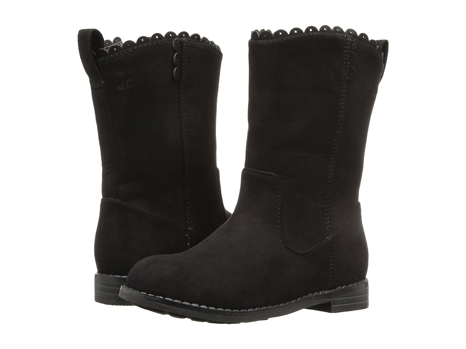 Jack Rogers - Miss Carly (Toddler/Little Kid/Big Kid) (Black) Women's Boots