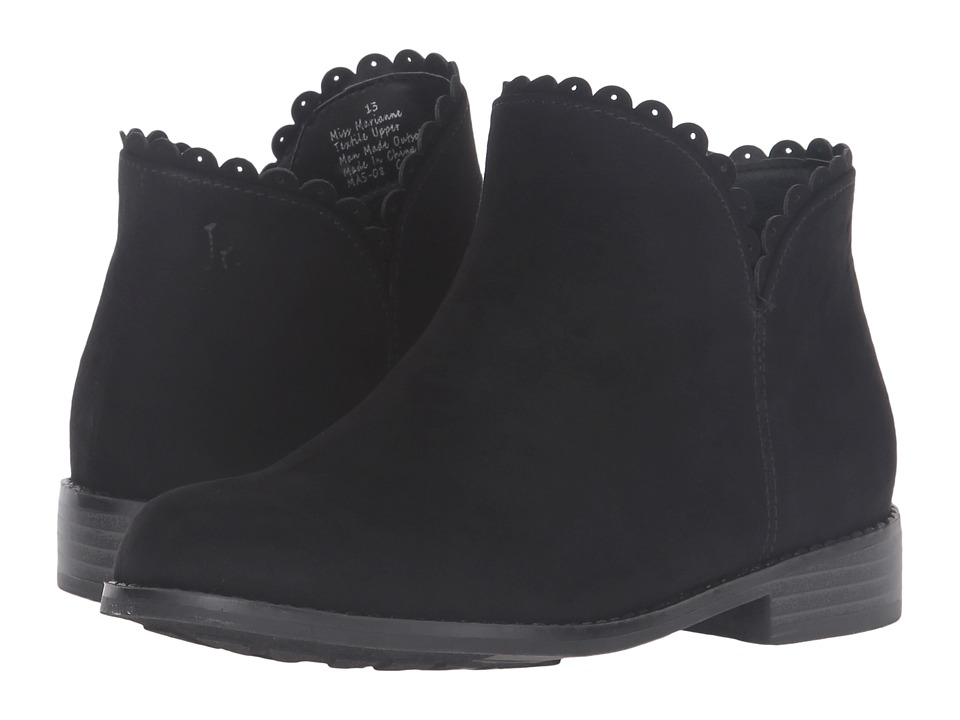 Jack Rogers - Miss Marianne (Toddler/Little Kid/Big Kid) (Black) Women's Boots