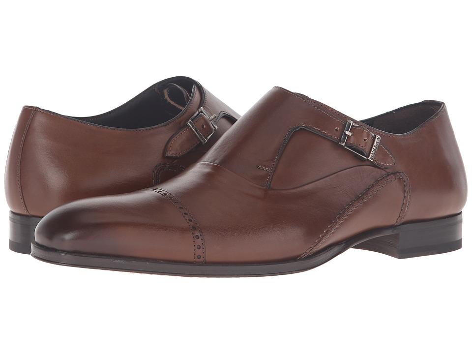 Mezlan - Kingston (Cognac) Men's Monkstrap Shoes
