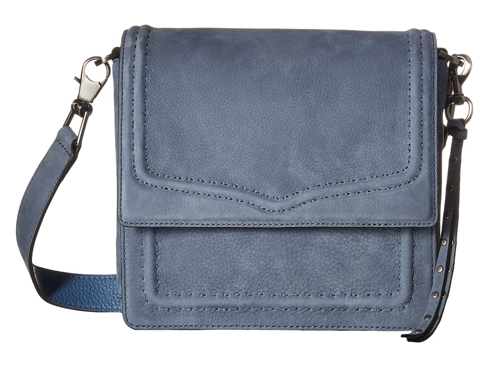 Rebecca Minkoff - North/South Messenger (Dusty Blue) Messenger Bags