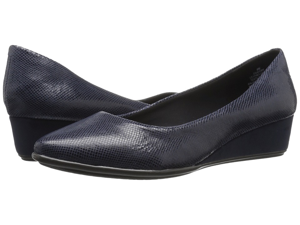 Easy Spirit Avery (Navy Reptile) Women