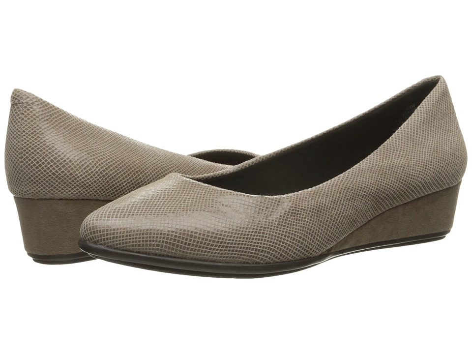 Easy Spirit - Avery (Taupe Reptile) Women's Shoes