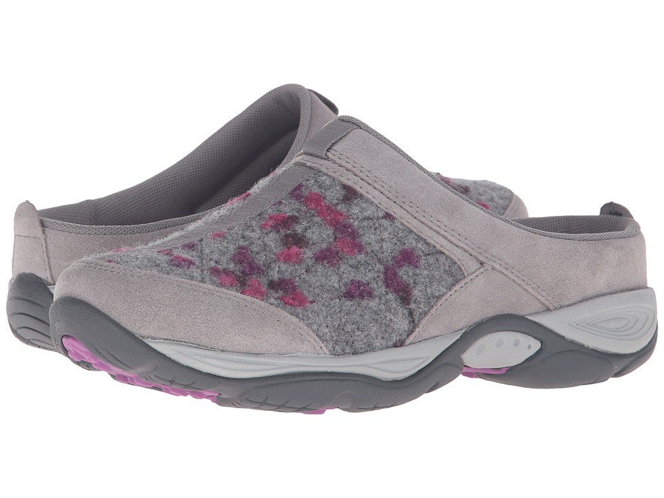 Easy Spirit EZ Time (Light Grey/Light Grey Suede) Women