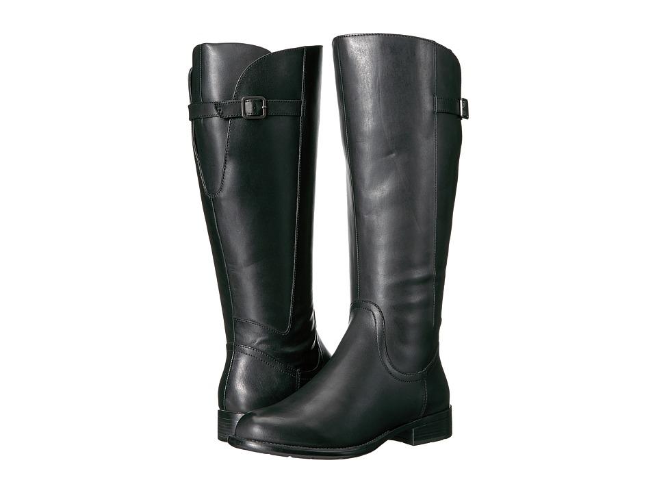 Easy Spirit JimletW (Black Wide Leather) Women