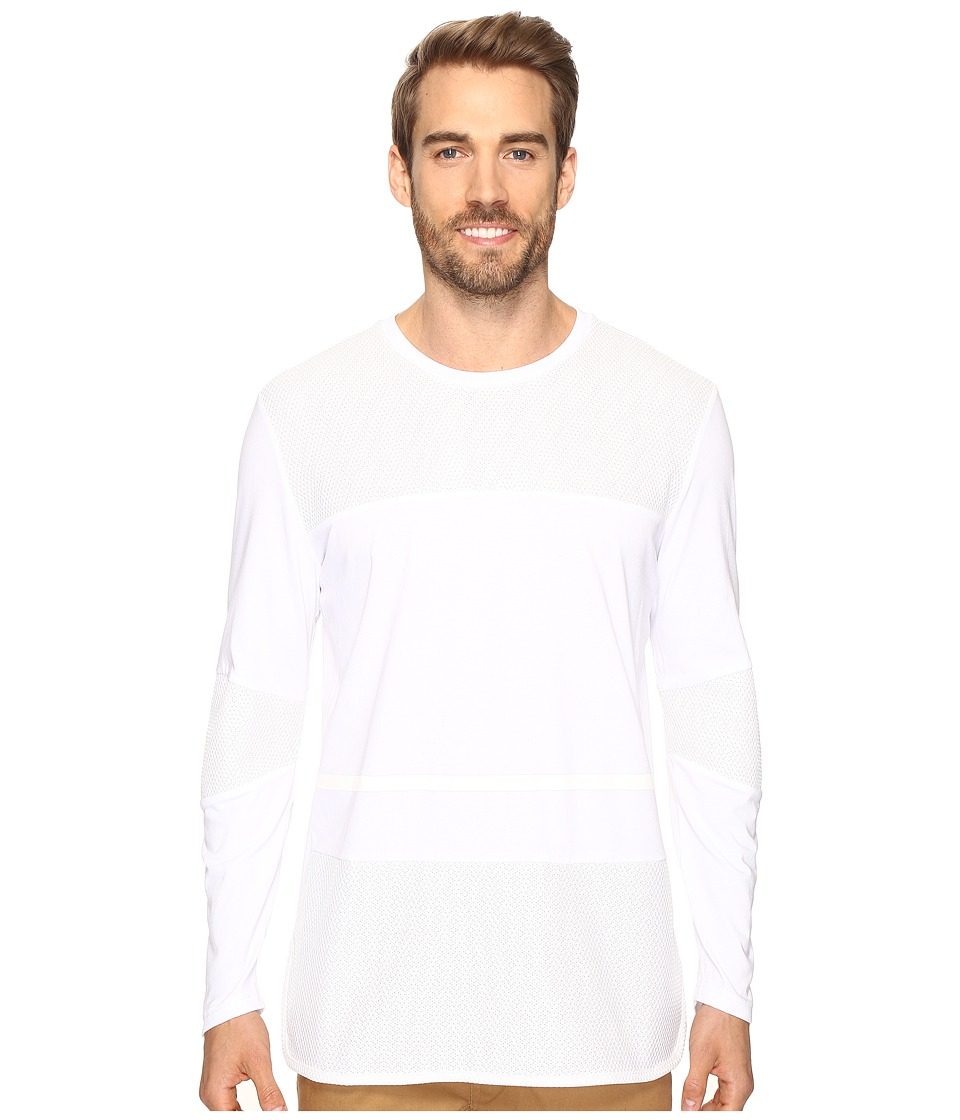 PUMA - Evo Basketball Long Sleeve (PUMA White) Men's Clothing