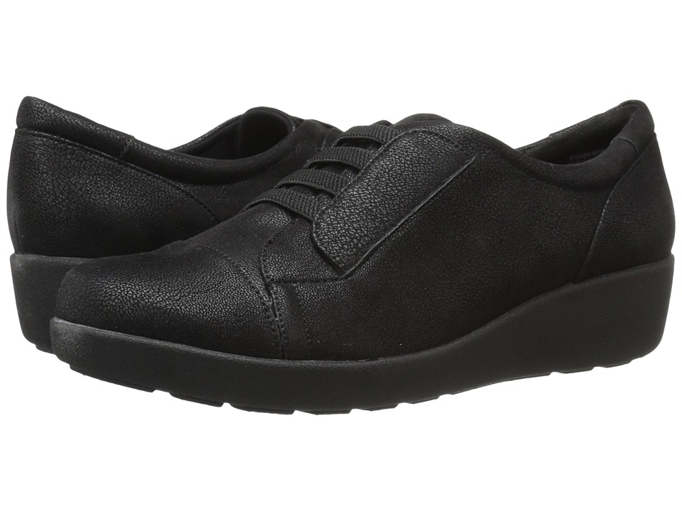 Easy Spirit - Kandance (Black Fabric) Women's Shoes