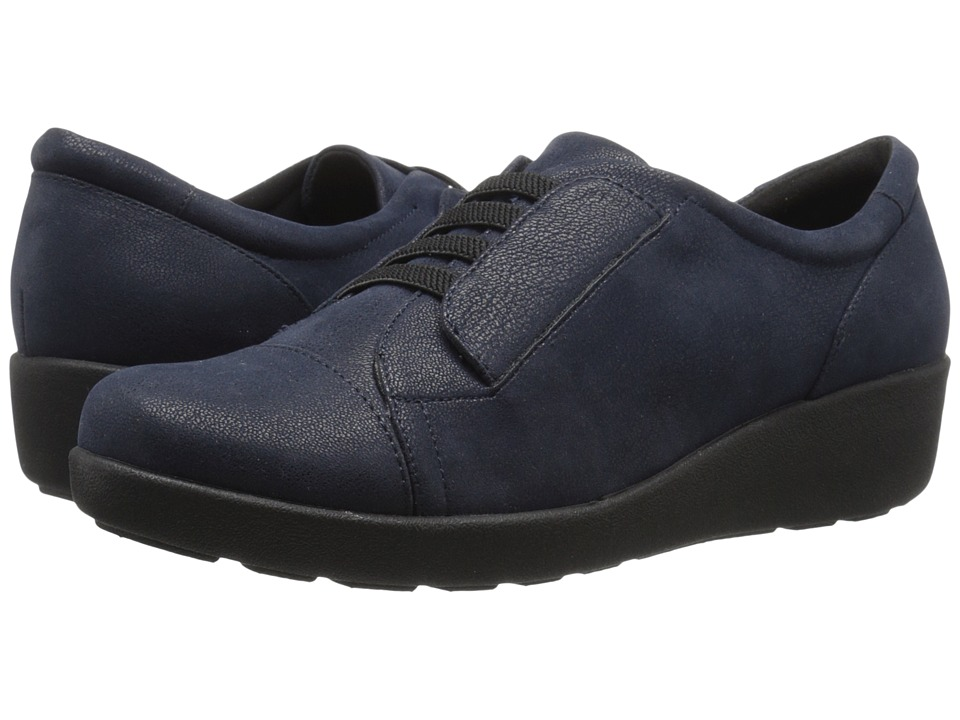 Easy Spirit - Kandance (Navy Fabric) Women's Shoes