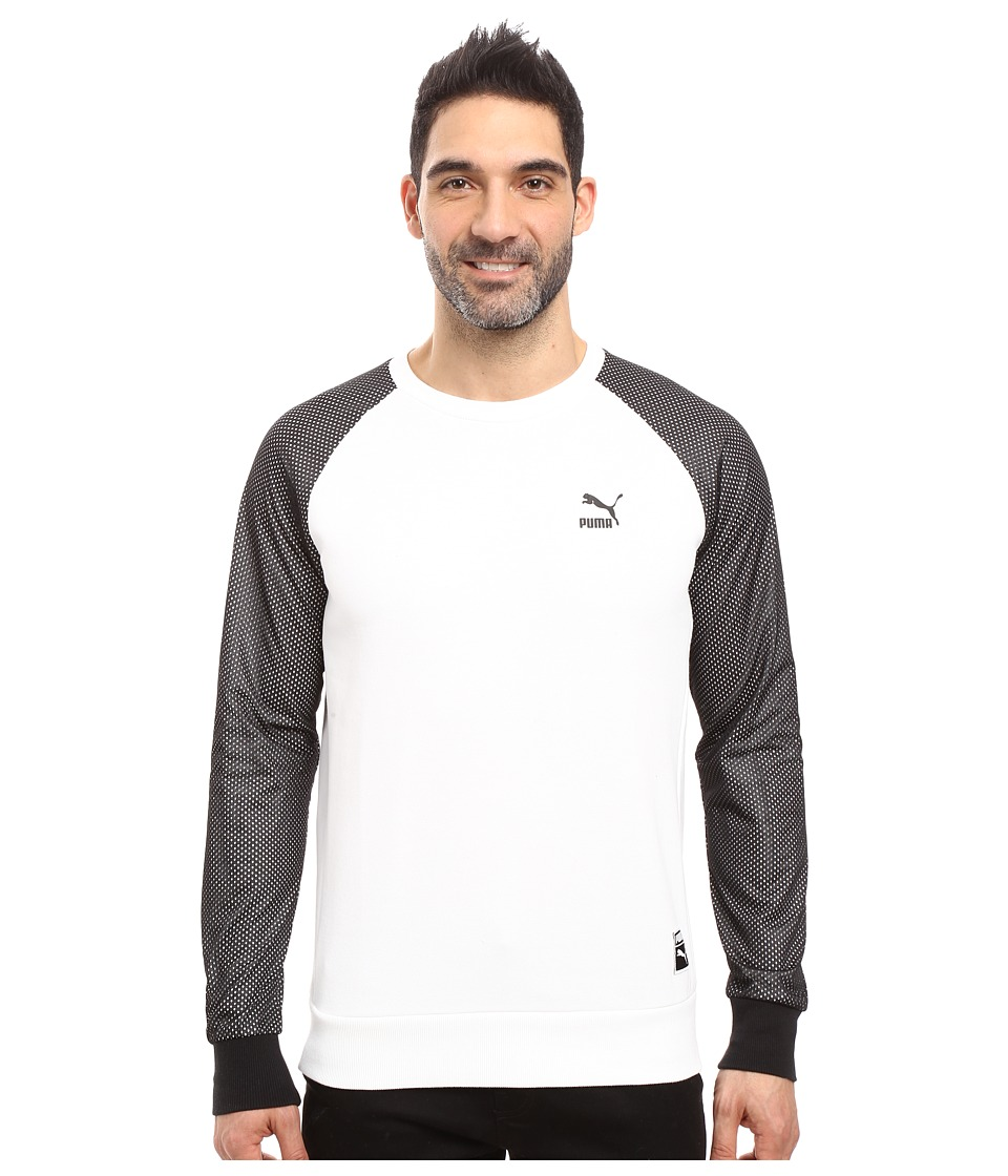 PUMA - Basketball Crew Fleece (PUMA White) Men's Fleece