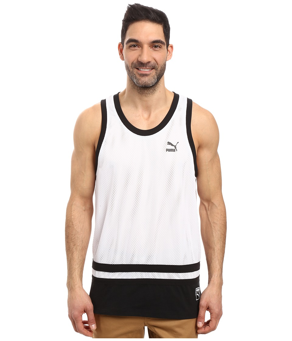 PUMA - Basketball Jersey (PUMA White) Men's Clothing
