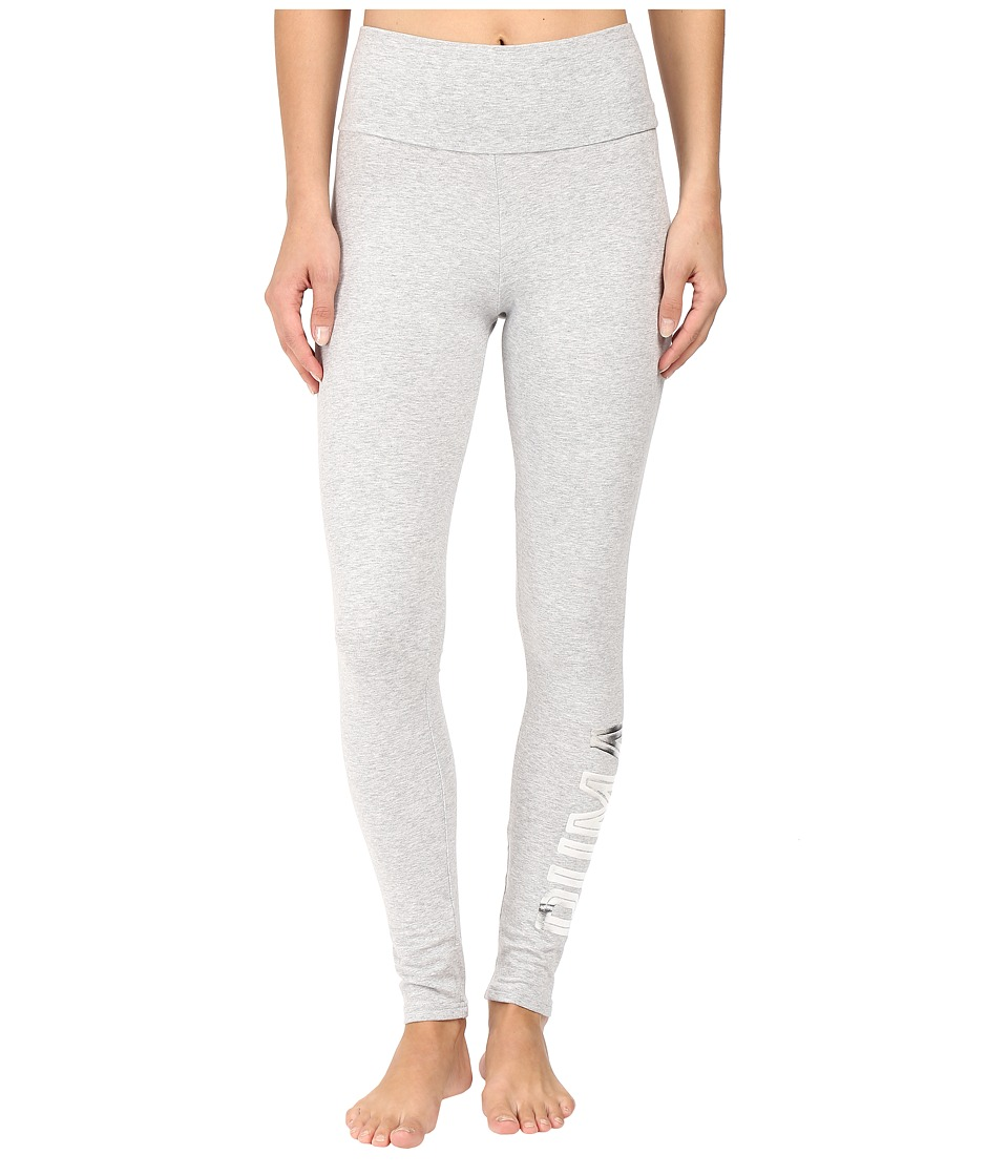 PUMA - Style Swagger Leggings (Light Gray Heather 1) Women's Workout