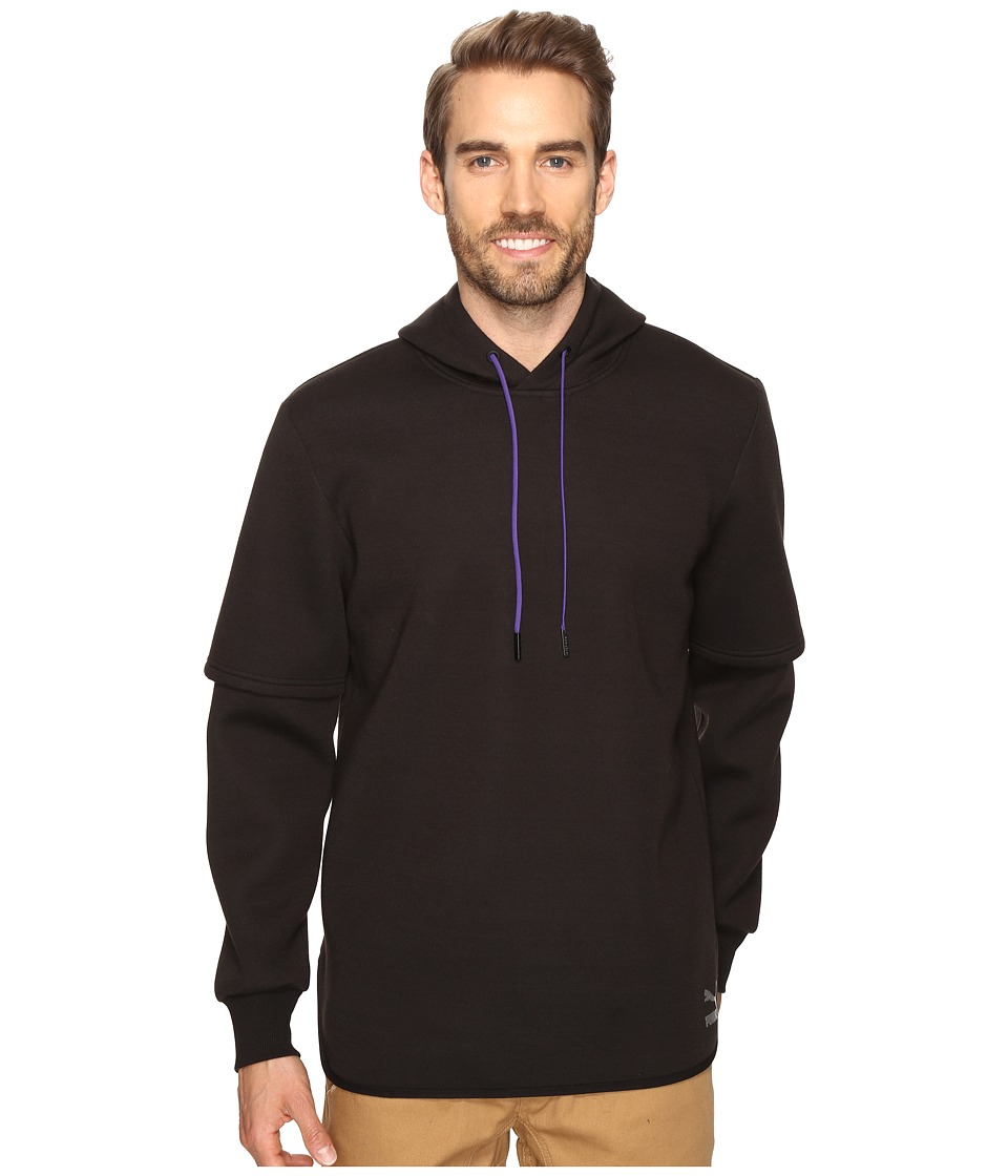 PUMA - Evo Layer Top Hoodie (PUMA Black) Men's Sweatshirt