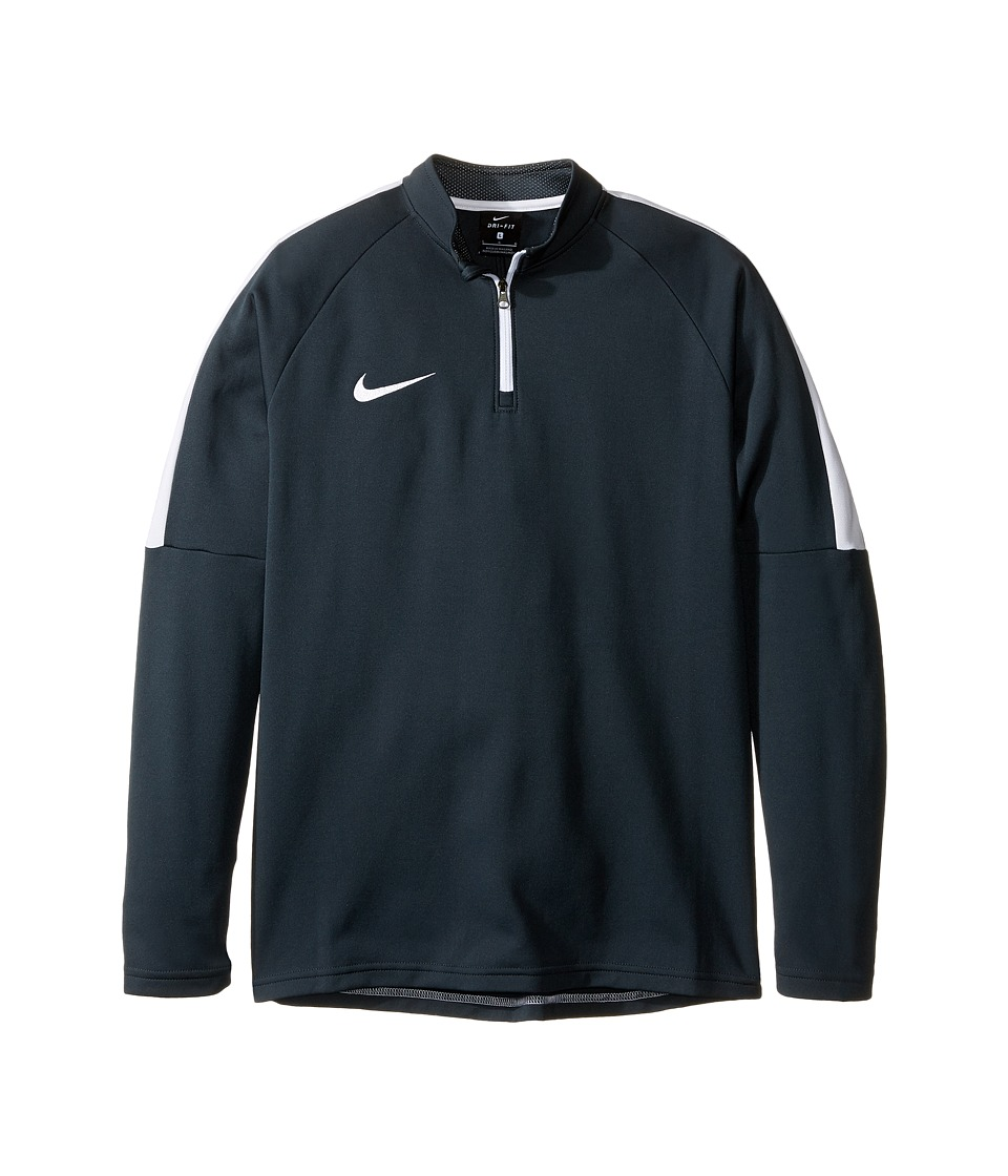 Nike Kids - Dry Soccer Drill Top (Little Kids/Big Kids) (Seaweed/White/White) Boy's Clothing