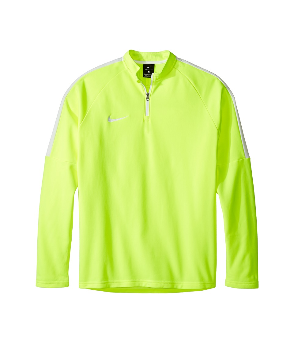 Nike Kids - Dry Soccer Drill Top (Little Kids/Big Kids) (Volt/White/White) Boy's Clothing