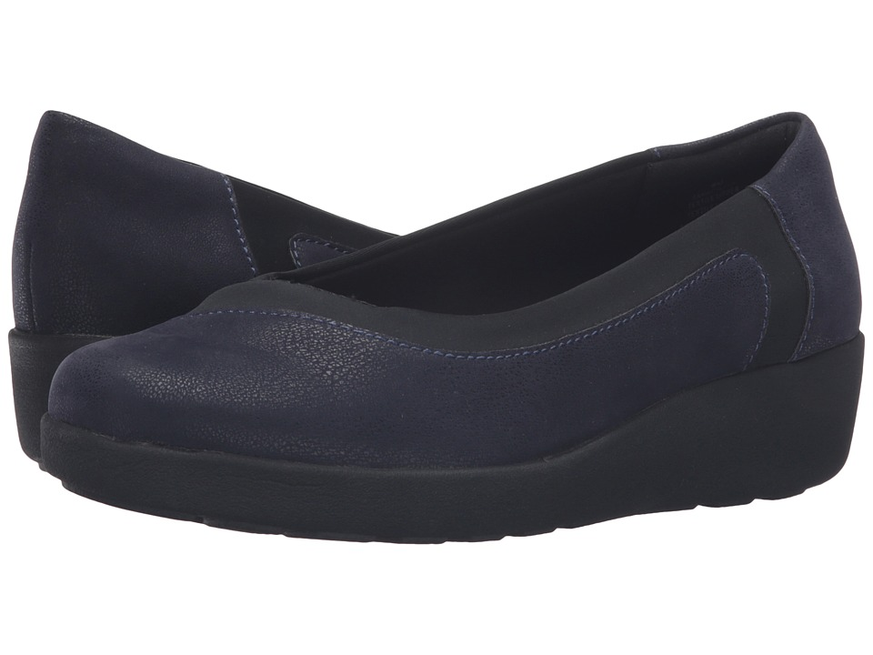 Easy Spirit Kathleen (Navy/Black Fabric) Women