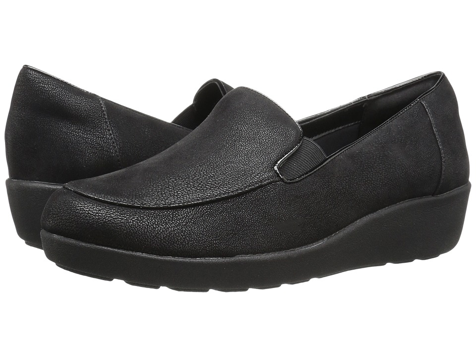 Easy Spirit - Kinsella (Black Fabric) Women's Shoes