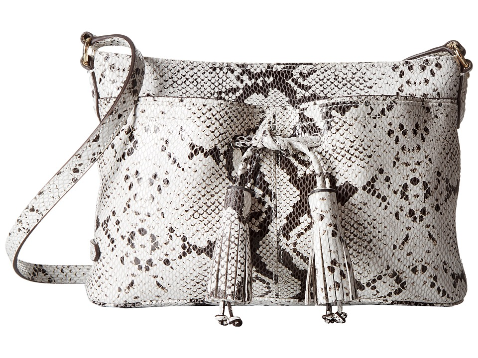 Cole Haan - Reiley Tassel Crossbody (Marble) Cross Body Handbags