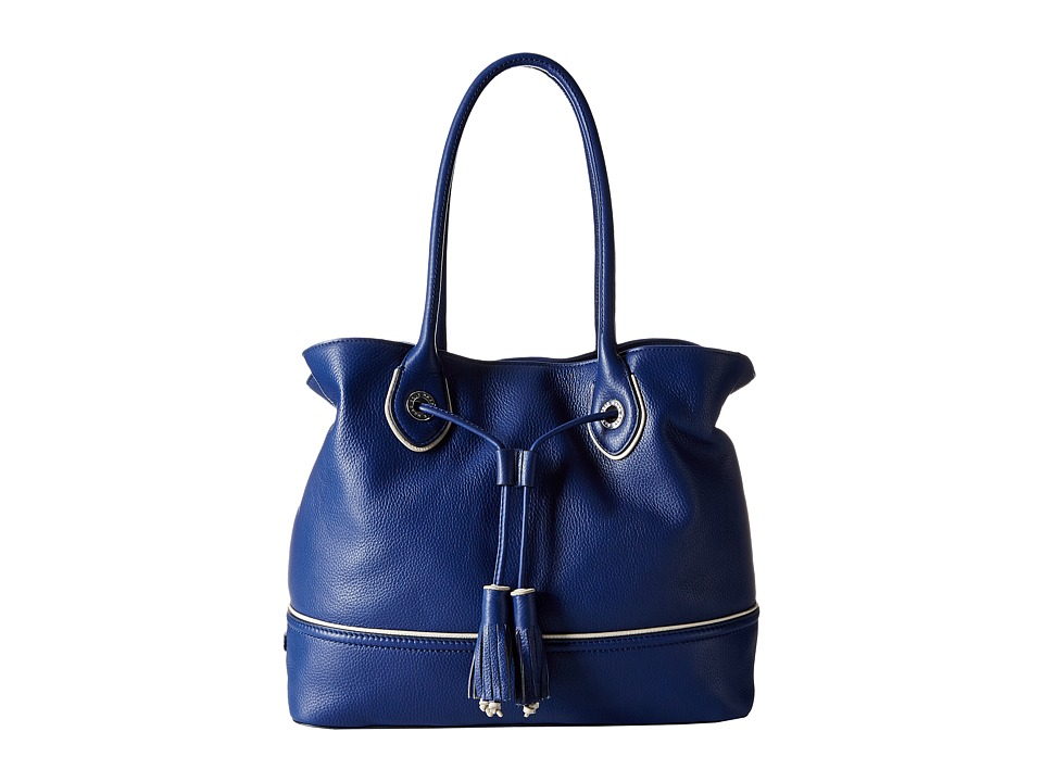 Cole Haan - Reiley Tassel Tote (Summer Night Blue) Tote Handbags
