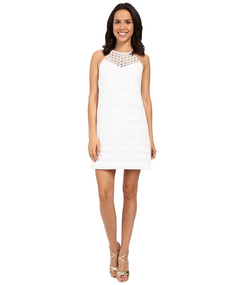 Lilly Pulitzer - Larina Shift Dress (Resort White Bubbly Stripe K) Women's Dress