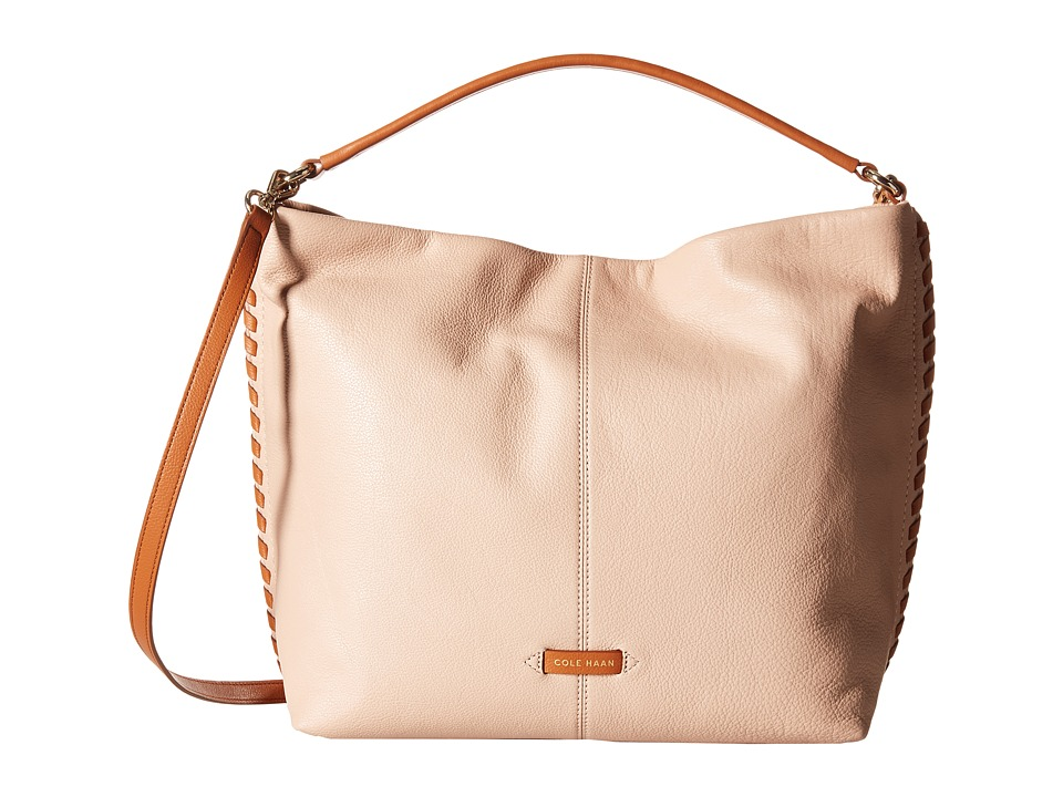 Cole Haan - Addey Double Strap Hobo (Toasted Almond/Acorn) Hobo Handbags
