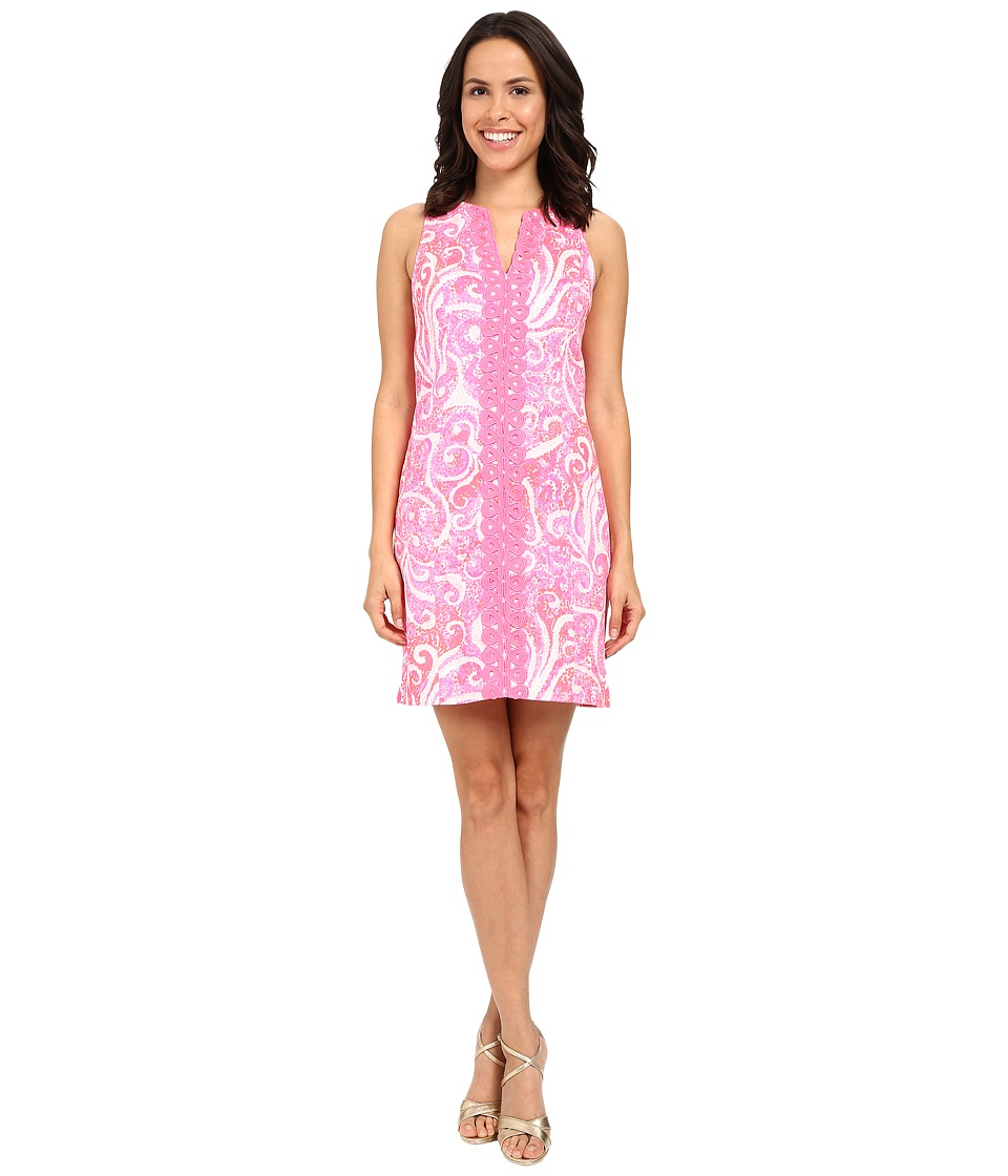 Lilly Pulitzer - Ryder Shift Dress (Pink Pout PBJ) Women's Dress