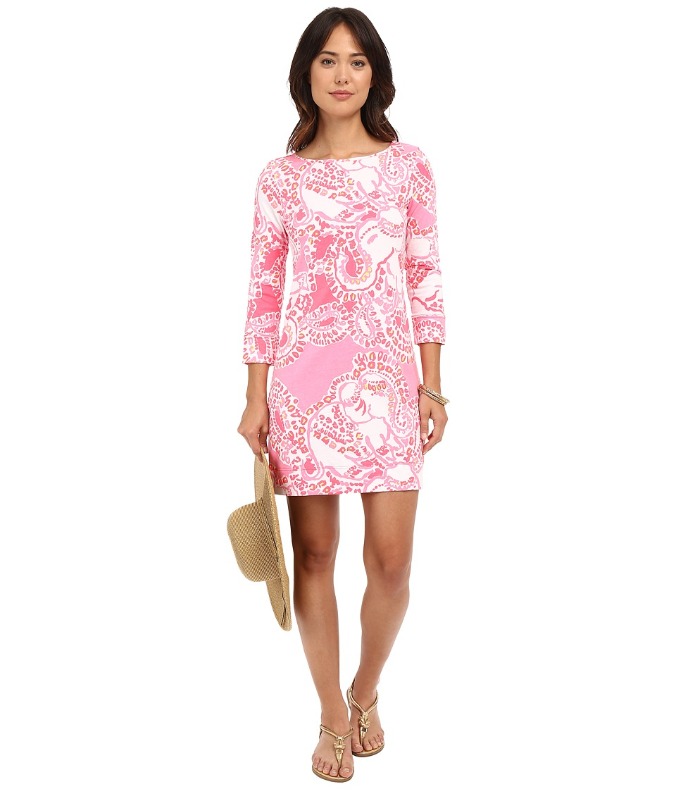 Lilly Pulitzer - Marlowe Dress (Hot Coral Trunk In Love) Women's Dress