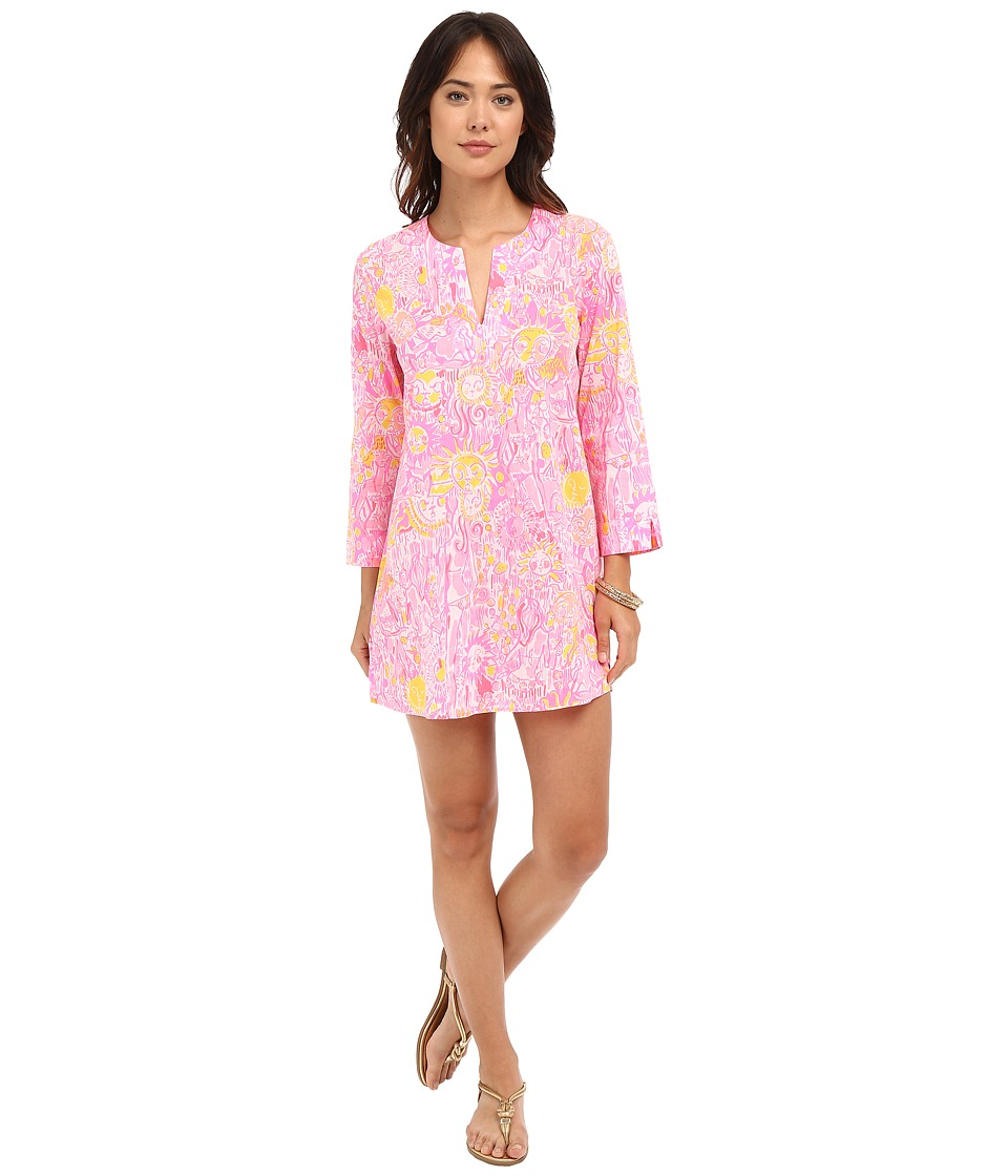 Lilly Pulitzer - Marco Island Tunic (Pink Pout More Kinis In The Keys) Women's Dress