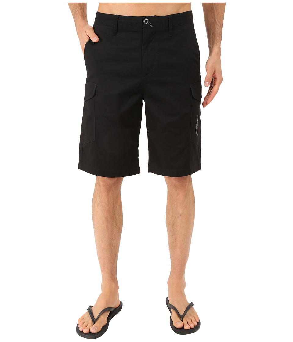 Alpinestars - Radar Cargo Walkshorts (Black) Men's Shorts