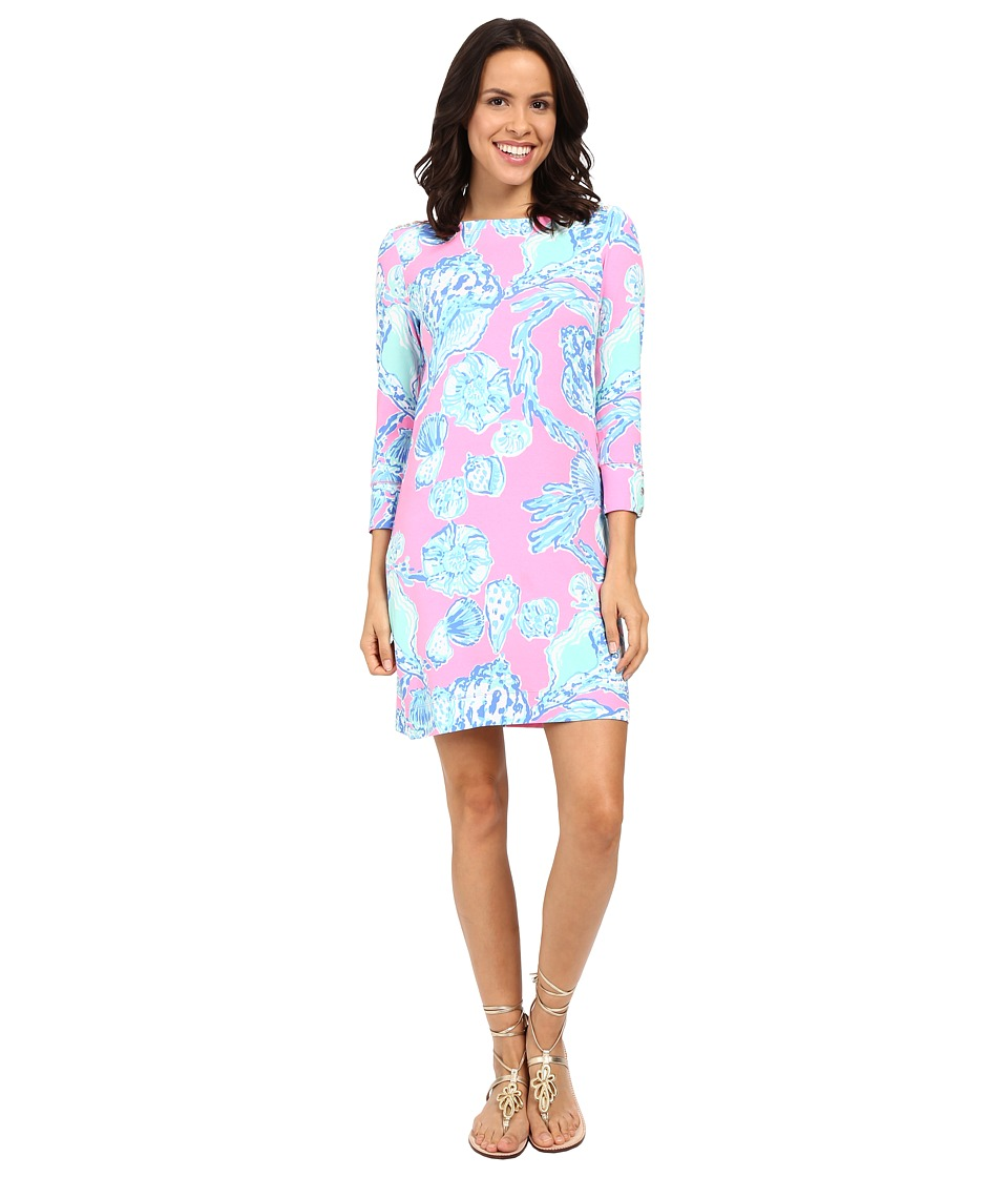 Lilly Pulitzer - UPF 50+ Sophie Dress (Pink Pout Barefoot Princess) Women's Dress