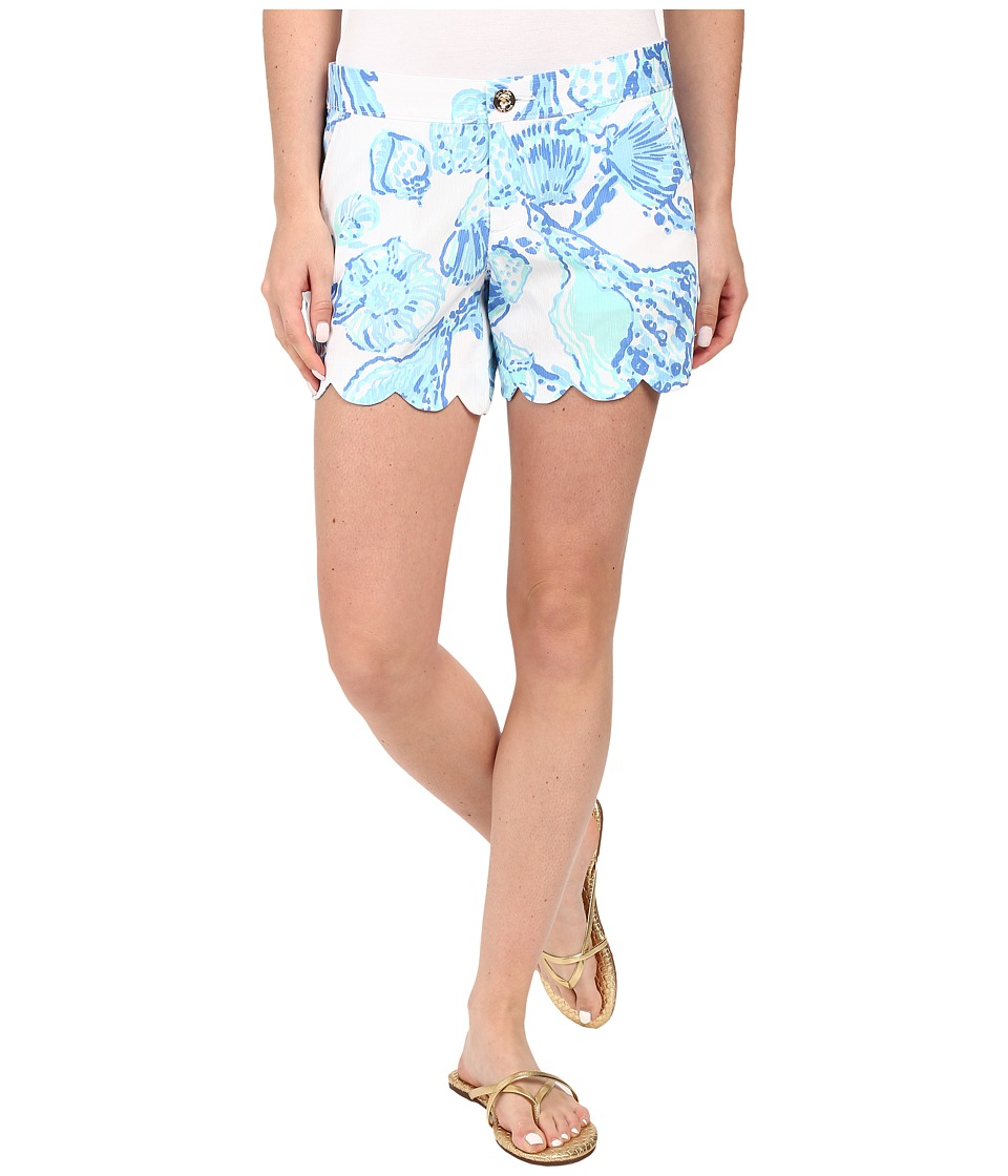 Lilly Pulitzer - Buttercup Shorts (Resort White Barefoot Princess) Women's Shorts