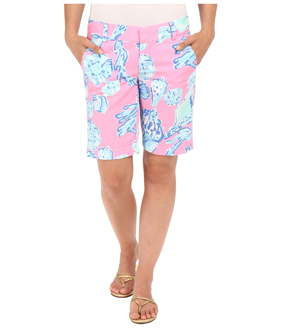 Lilly Pulitzer - Chipper Shorts (Pink Pout Barefoot Princess) Women's Shorts