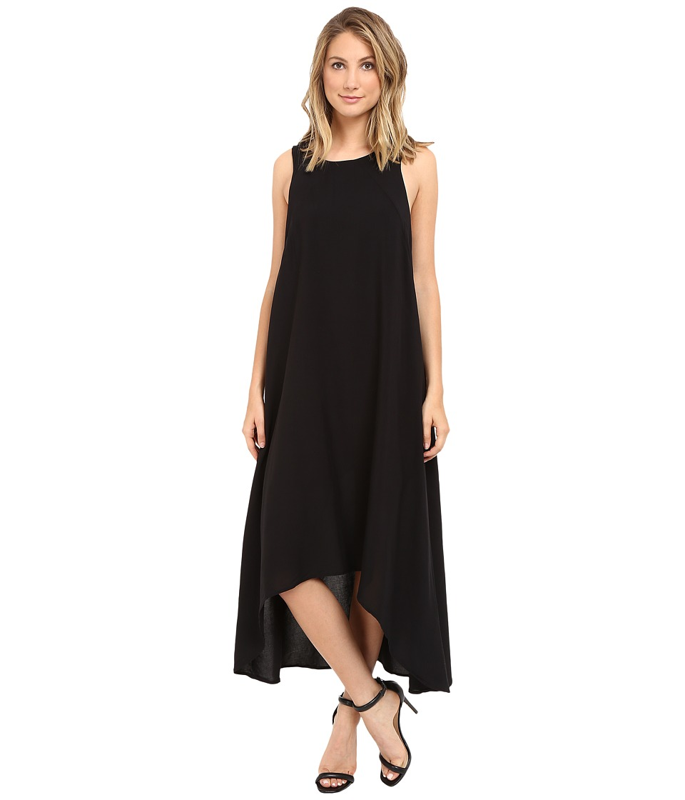 Culture Phit - Payton High-Low Dress (Black) Women's Dress
