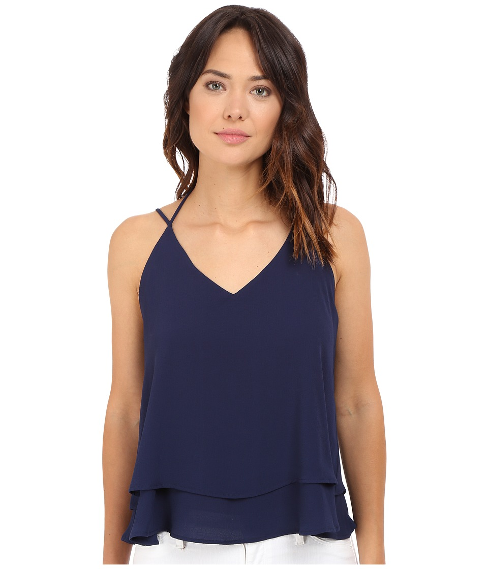 Culture Phit - Libby Double Layer Cami (Navy) Women's Sleeveless