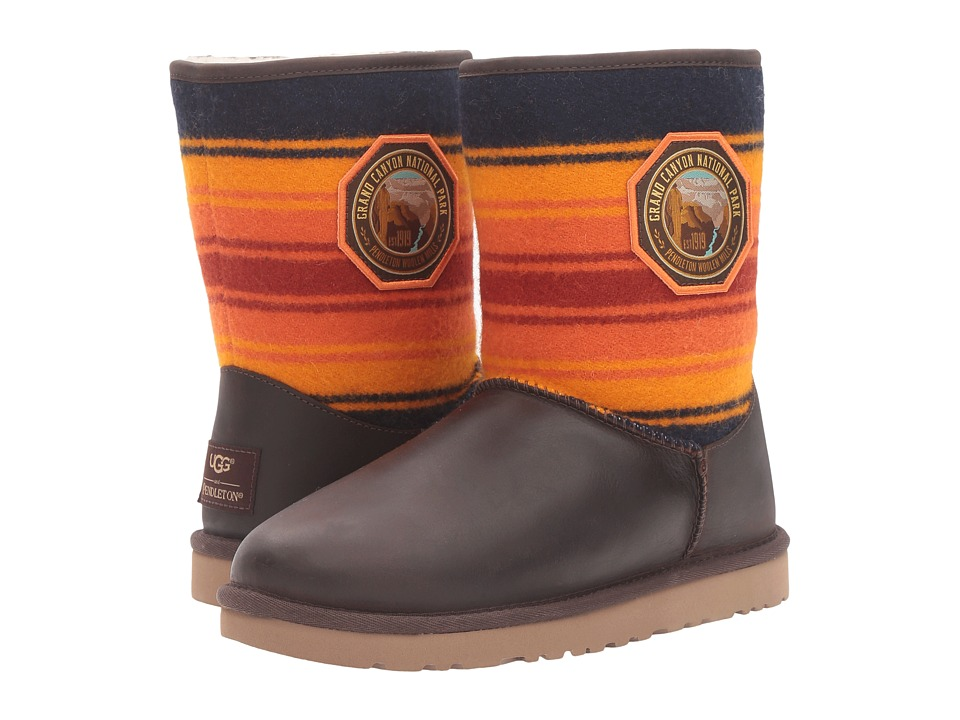 UGG Classic Short NP Grand Canyon (Grizzly) Women