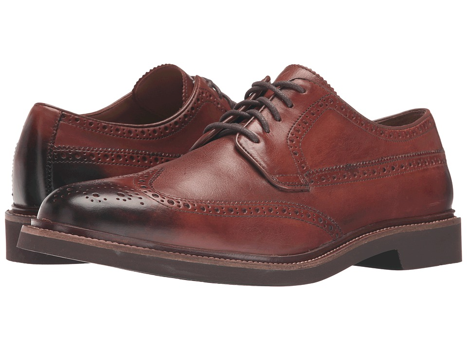 Cole Haan Briscoe Wing Oxford (British Tan/Java) Men