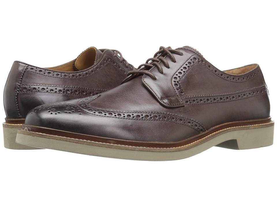 Cole Haan - Briscoe Wing Oxford (Java/Ironstone) Men's Lace up casual Shoes