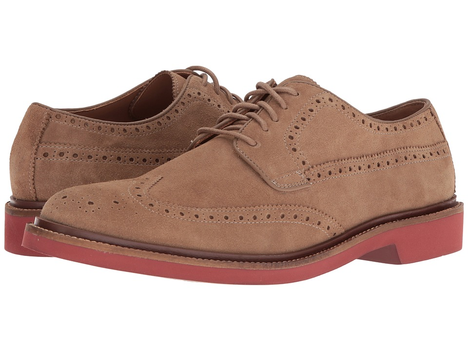 Cole Haan - Briscoe Wing Oxford (Milkshake Suede) Men's Lace up casual Shoes