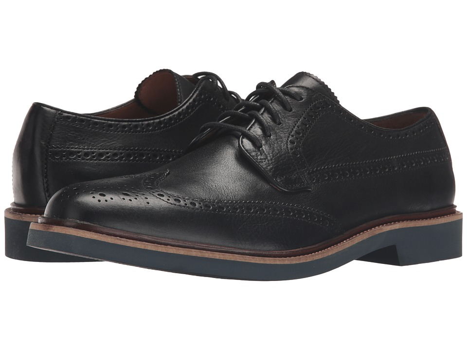 Cole Haan - Briscoe Wing Oxford (Black/Magnet) Men's Lace up casual Shoes