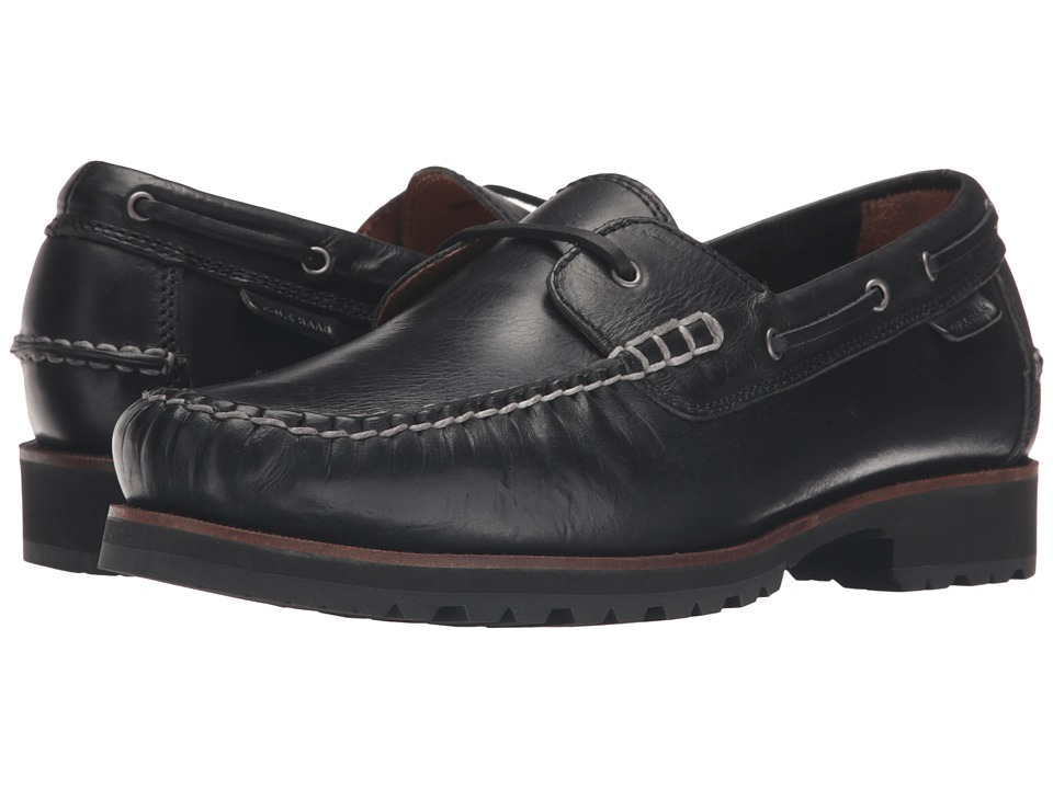 Cole Haan Connery One Eye Lace Oxford (Black) Men