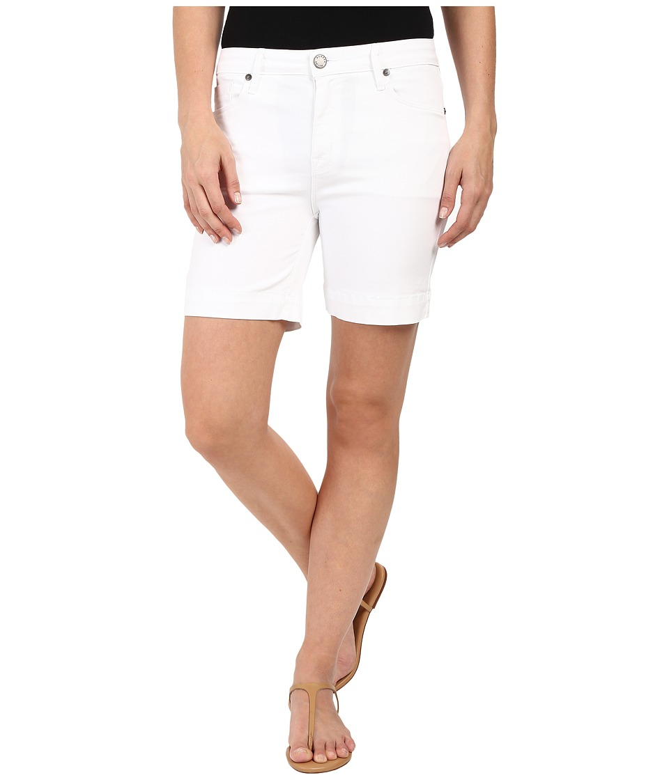 Parker Smith - High Rise Shorts in White (White) Women's Shorts