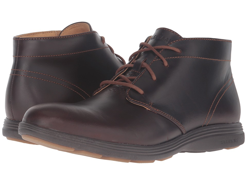 Cole Haan - Grand Tour Chukka (Woodbury Leather/Java) Men's Boots