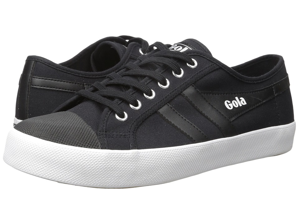 Gola - Coaster (Black/Black/White) Men's Lace up casual Shoes