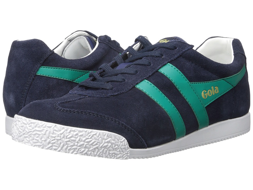 Gola - Harrier (Navy/Teal/White) Men's Shoes