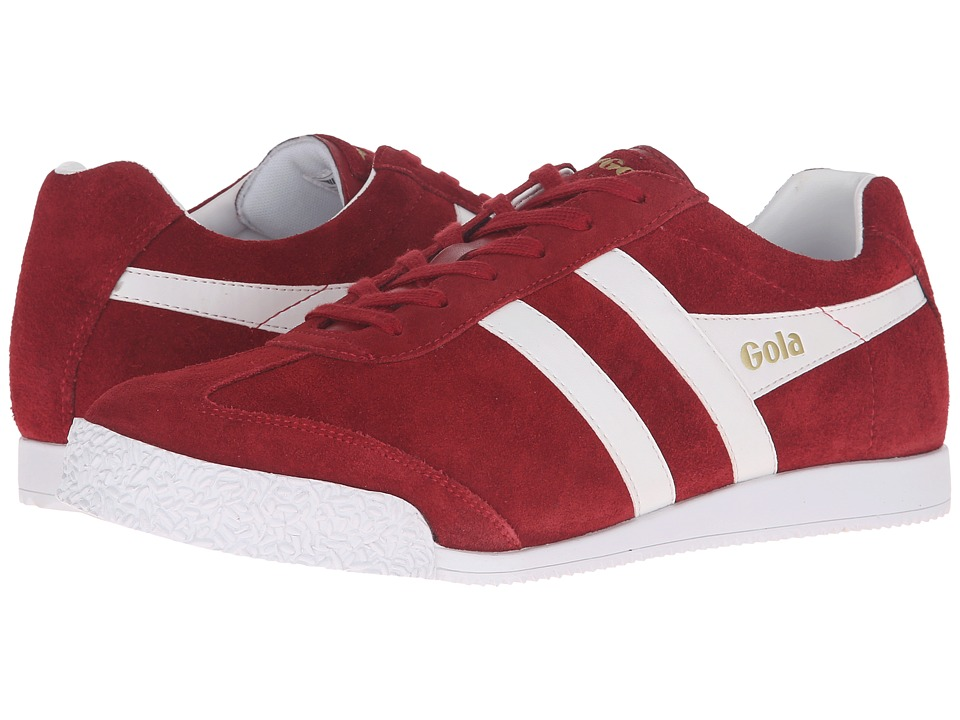 Gola - Harrier (Jester Red/White) Men's Shoes