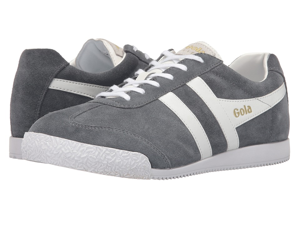 Gola - Harrier (Graphite/White) Men's Shoes