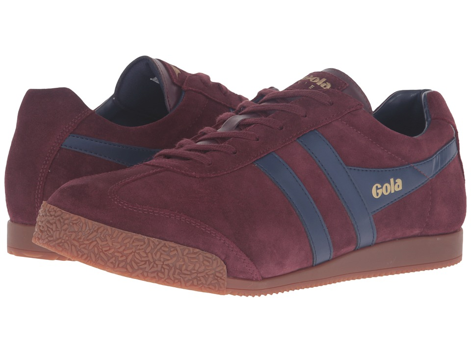 Gola - Harrier (Burgundy/Navy) Men's Shoes