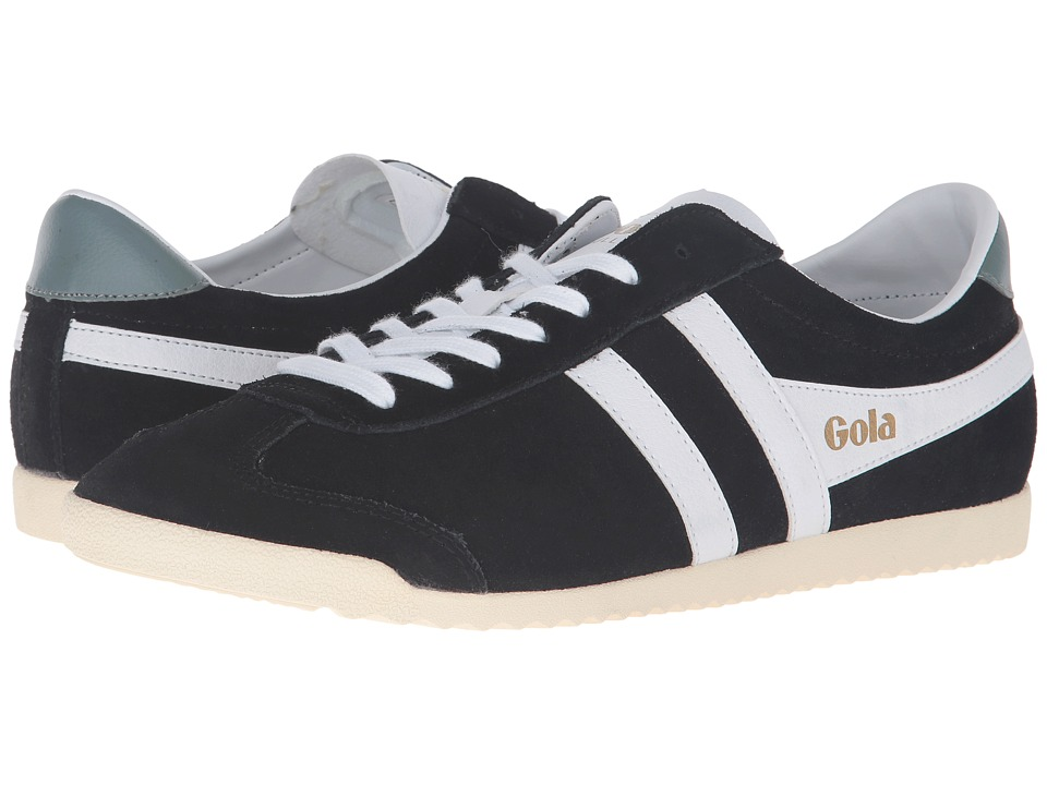 Gola - Bullet Suede (Black/White) Men's Shoes