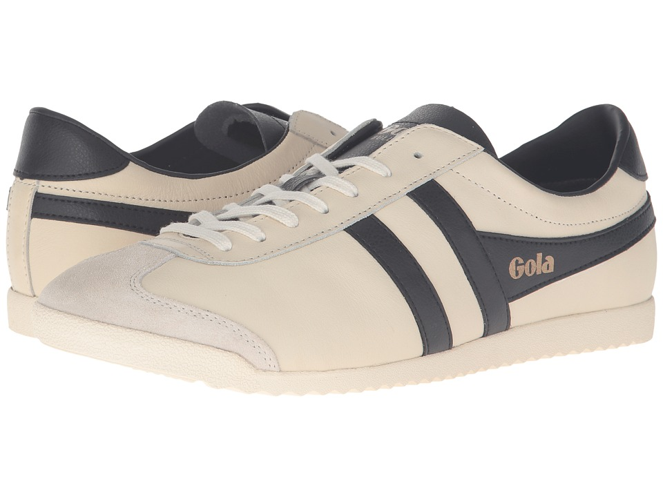 Gola Bullet Leather (Off-White/Black) Men